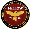 National association of distinguished counsel | fellow 2018